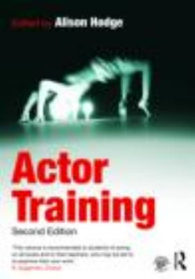 Actor Training 9780415471688
