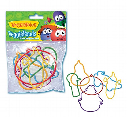 VeggieTales VeggieBands: 24 Fun Shaped Bands 0820413000547