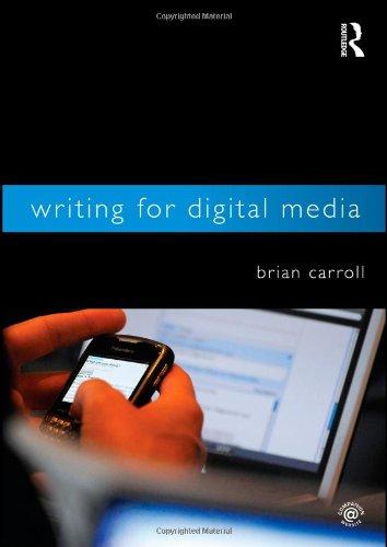 Writing for Digital Media 9780415992015