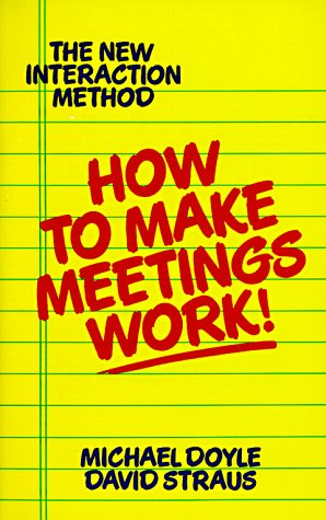 How to Make Meetings Work! 9780425138700