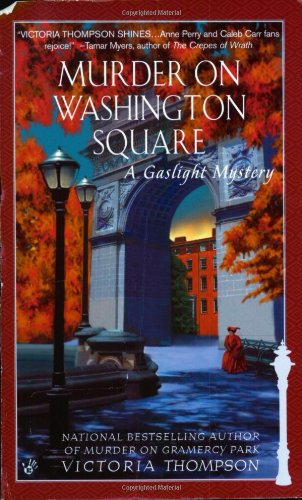 Murder on Washington Square 9780425184301