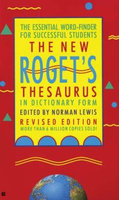 The New Roget's Thesaurus (Student Edition) 9780425123614