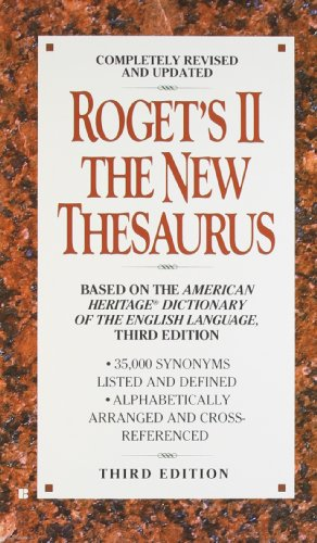 Roget's II the New Thesaurus 9780425156681