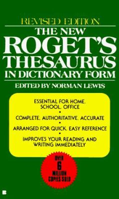 The New Roget's Thesaurus in Dictionary Form 9780425099759
