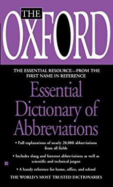 The Oxford Essential Dictionary of Abbreviations
