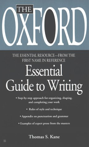 The Oxford Essential Guide to Critical Writing 9780425176405