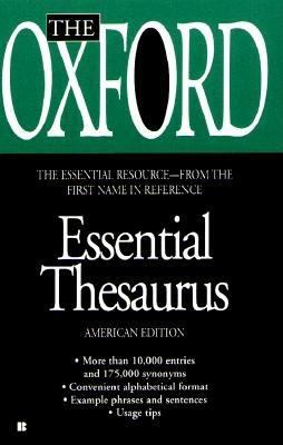 The Oxford Essential Thesaurus 9780425164211