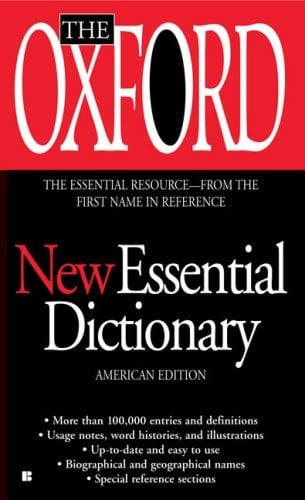 The Oxford New Essential Dictionary 9780425222416