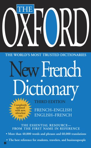 The Oxford New French Dictionary: French-English/English-French 9780425228616