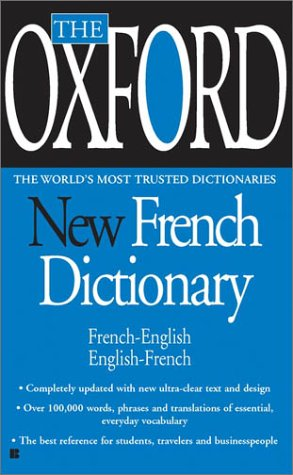 The Oxford New French Dictionary 9780425192894