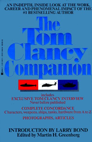 The Tom Clancy Companion 9780425134078