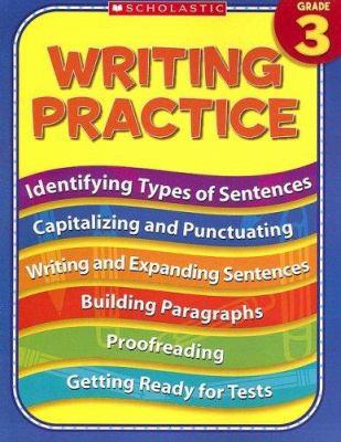 3rd Grade Writing Practice 9780439819121