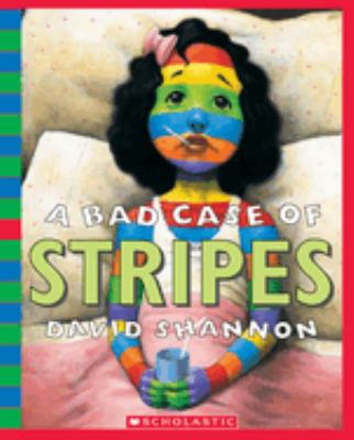 A Bad Case of Stripes [With Book] 9780439924948