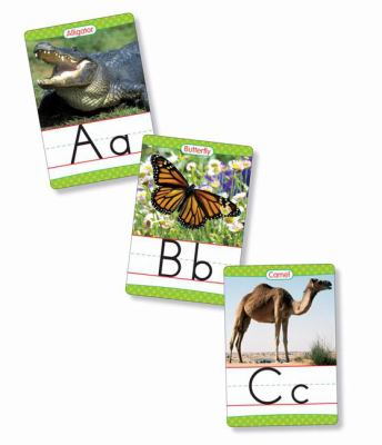 Animals from A to Z Alphabet Set: Manuscript: 26 Ready-To-Display Letter Cards with Fabulous Photos of Animals 9780439786041