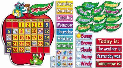 Apple Time! Calendar Bulletin Board