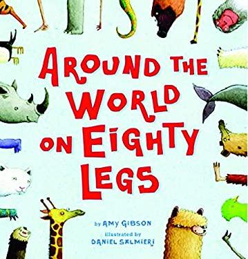 Around the World on Eighty Legs 9780439587556