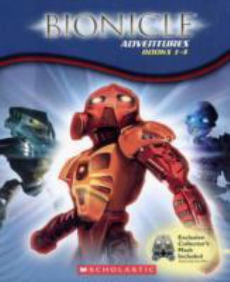 Bionicle Adventures 1-4 [With Mask] 9780439890205