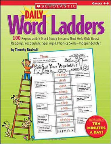 Daily Word Ladders Grades 4-6 9780439773454