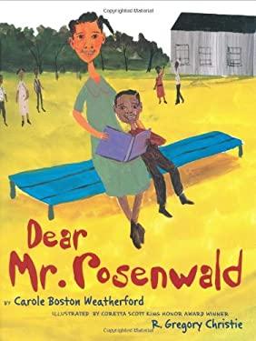 Dear Mr. Rosenwald 9780439495226