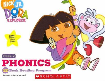 Dora the Explorer Phonics: 12 Book Reading Program 9780439779180