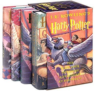Harry Potter Boxed Set 9780439249546