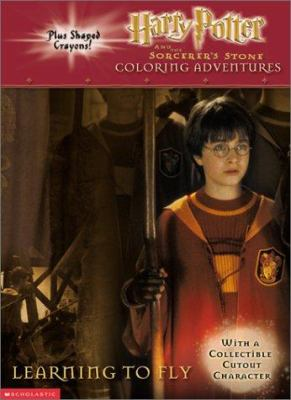 Harry Potter Learning to Fly Coloring/Activity Book [With 3 Broom Shaped Crayons] 9780439286169