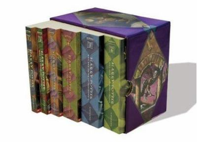 Harry Potter Paperback Boxset 1-6 9780439887458