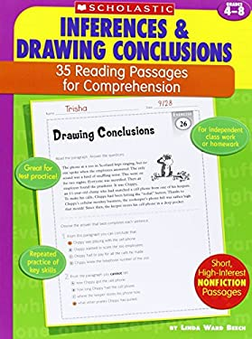 Inferences & Drawing Conclusions: Grades 4-8 9780439554114