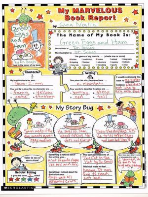 how to write a book review scholastic