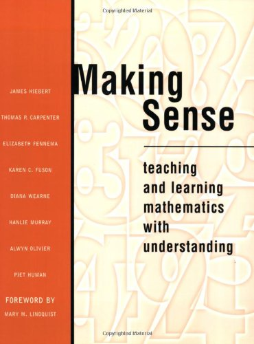 Making Sense: Teaching and Learning Mathematics with Understanding 9780435071325