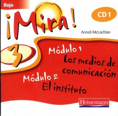 Mira 3 Rojo Audio CD (Pack of 3) 9780435391928