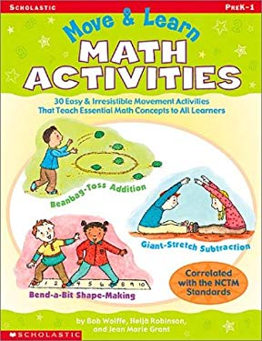 Move & Learn Math Activities 9780439303583