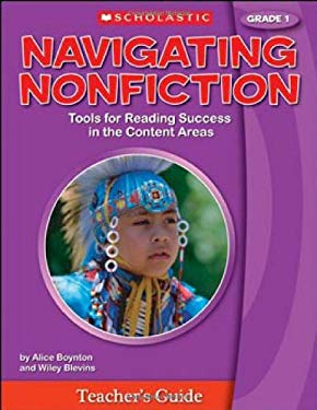 Navigating Nonfiction, Grade 1 [With Poster] 9780439783033