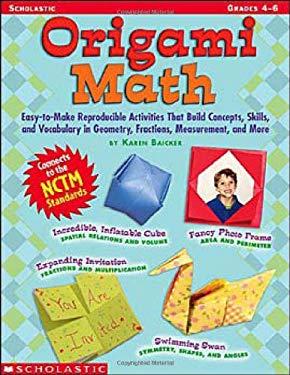 Origami Math: Grades 4-6 9780439539920