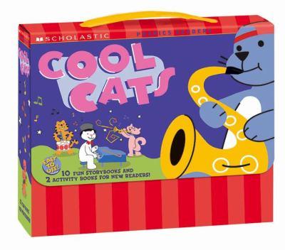 Phonics Fun Cool Cats Boxed Set 9780439485937