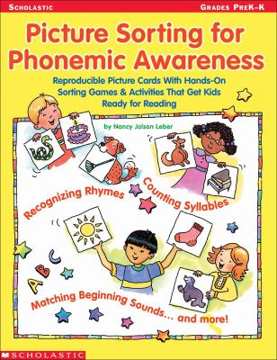 Picture Sorting for Phonemic Awareness 9780439282314