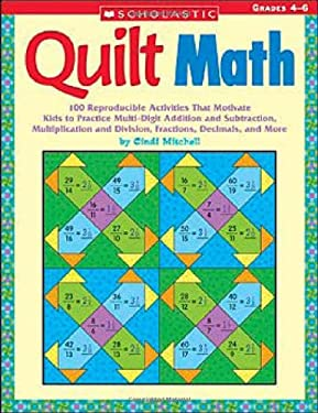 Quilt Math: Grades 4-6 9780439385336