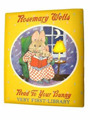 Read to Your Bunny: Very First Library Gift Set [With Frieze and Pamphlet] 9780439871907