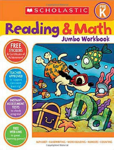 Reading & Math Jumbo Workbook: Grade Prek 9780439785983
