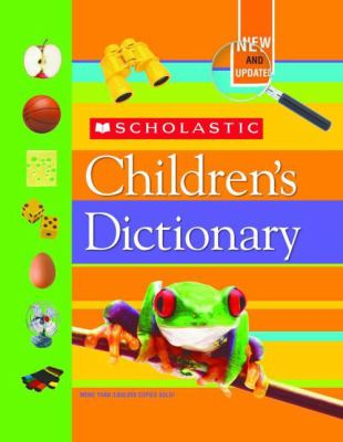 Scholastic Children's Dictionary 9780439702584