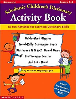 Scholastic Children's Dictionary Activity Book 9780439304634