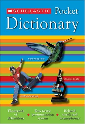 Scholastic Pocket Dictionary 9780439620390