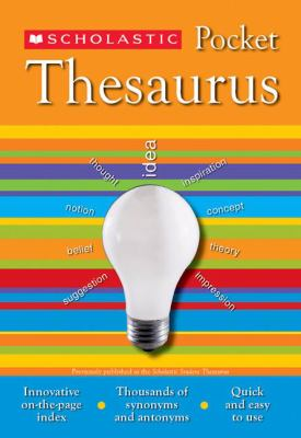 Scholastic Pocket Thesaurus 9780439620376