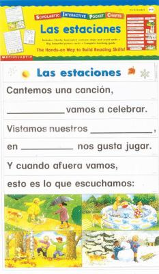 Seasons - Prepack (Spanish): Seasons (Spanish) [With 4-Page Teacher's Guide] 9780439141093