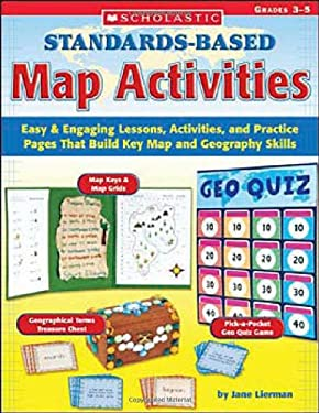 Standards-Based Map Activities 9780439517744