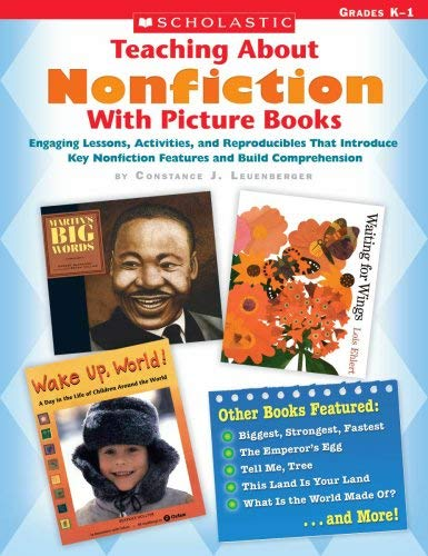Teaching about Nonfiction with Picture Books, Grades K-1 9780439661195