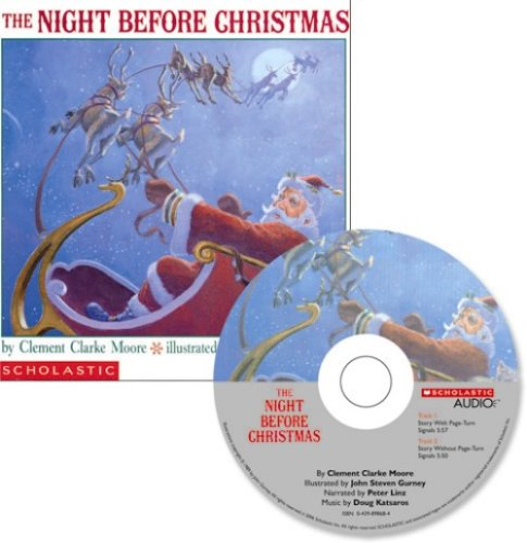 The Night Before Christmas [With CD] 9780439895576