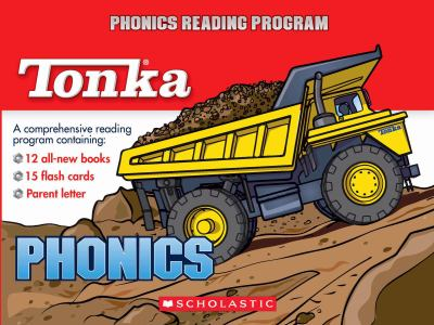 Tonka Phonics Reading Program [With 15 Flash Cards] 9780439918190