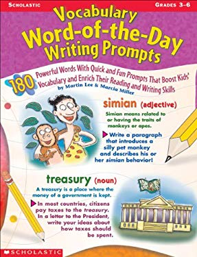Vocabulary Word-Of-The-Day Writing Prompts 9780439276030
