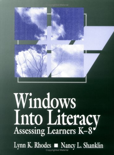 Windows Into Literacy: Assessing Learners K-8 9780435087579